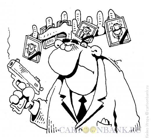Карикатура: Мстительный рогоносец, Кийко Игорь