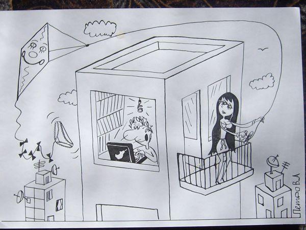 Карикатура: мужчины и женщины2014, Петров Александр
