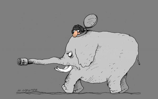 Карикатура: прорвемся, михаил ларичев