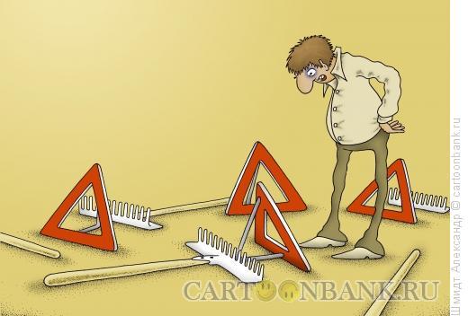 Карикатура: Предостережение, Шмидт Александр