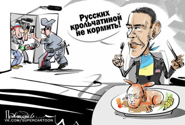 Карикатура: Кролики, это не только ..., Подвицкий Виталий