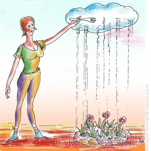 Карикатура: Ах,эта девушка!, Кинчаров Николай