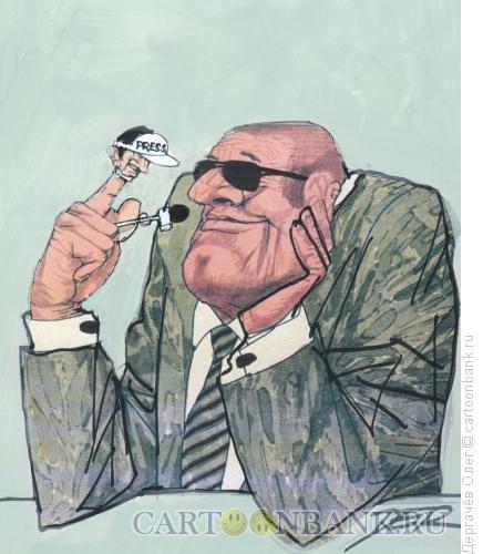Карикатура: Интервью, Дергачёв Олег