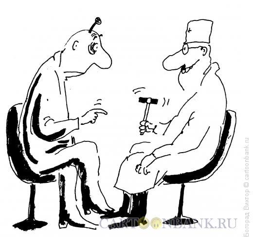 Карикатура: Гвоздик и молоточек, Богорад Виктор