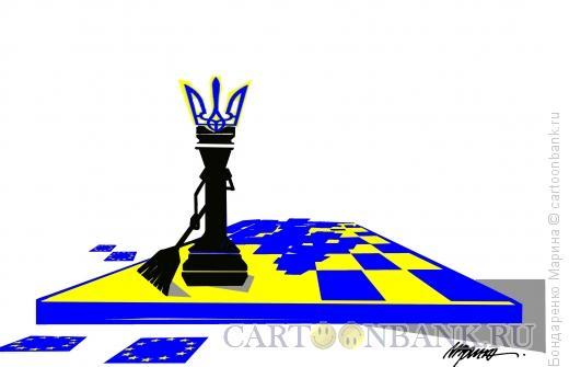 Карикатура: Украина, Чистильщик, Бондаренко Марина