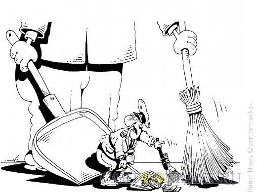 Карикатура: Мусор, Кийко Игорь