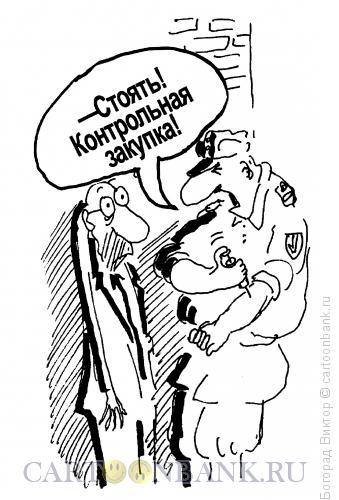 Карикатура: Проверка!, Богорад Виктор