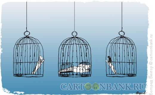 Карикатура: Мечта, Богорад Виктор