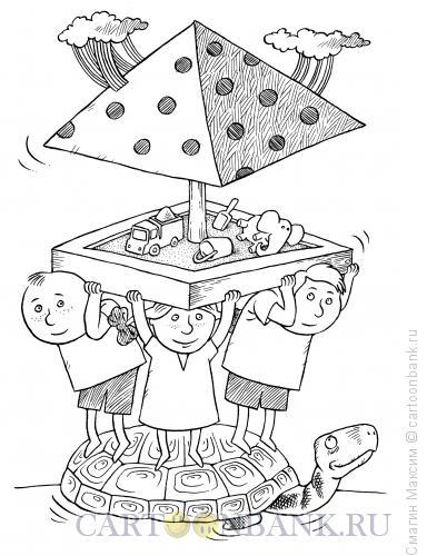 Карикатура: Детский мир, Смагин Максим