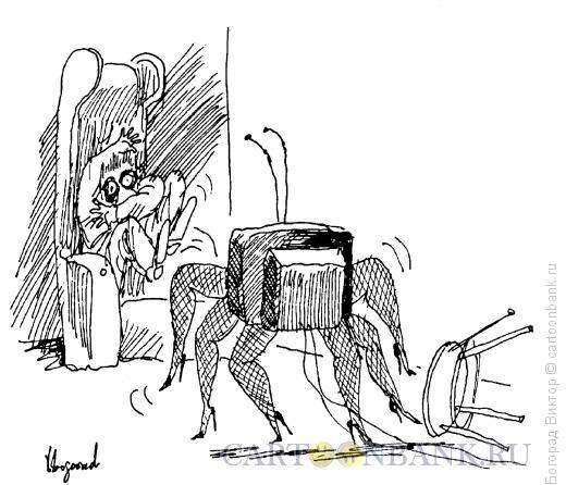 Карикатура: Теле-кошмар, Богорад Виктор