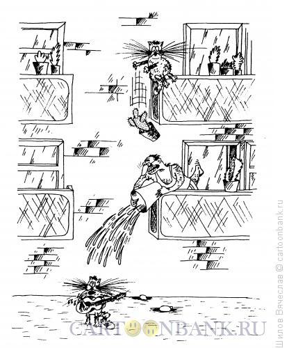 Карикатура: Заступник, Шилов Вячеслав