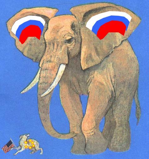 Карикатура: Санкции..., Игла