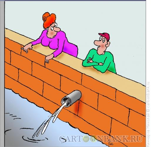 Карикатура: Женское любопытство, Кинчаров Николай