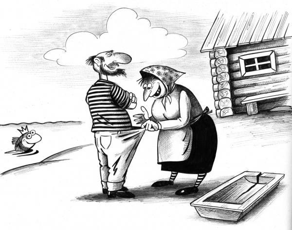 Карикатура: Главное желание, Сергей Корсун