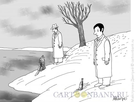 Карикатура: Прогулка, Майстренко Дмитрий