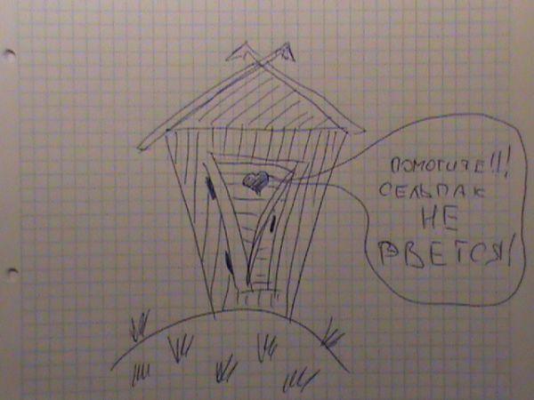 Карикатура: Сельпак не рвётся!, Geo62