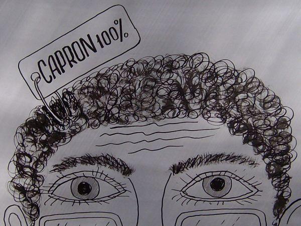 Карикатура: Волосы, Петров Александр