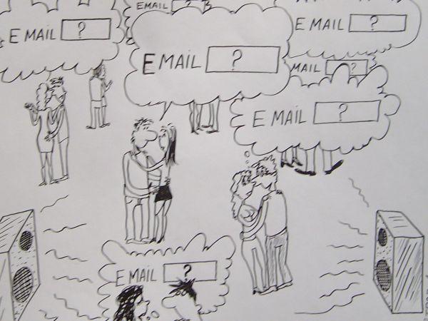 Карикатура: новое время-новое общение, Петров Александр