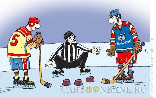 Карикатура: кручу-верчу, Кокарев Сергей
