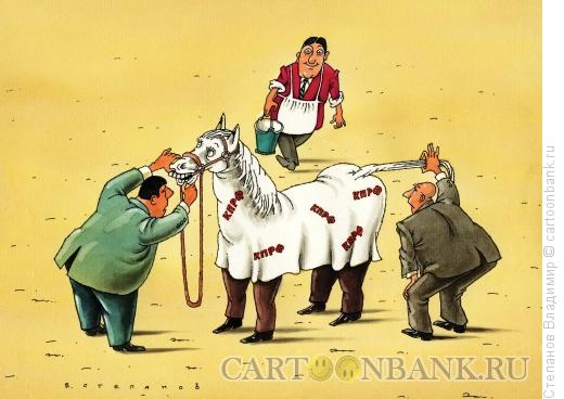 Карикатура: Скакун, Степанов Владимир