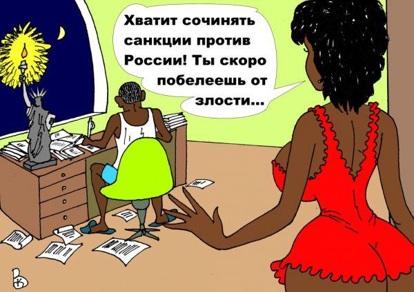 Карикатура: Сочинитель, Валерий Каненков