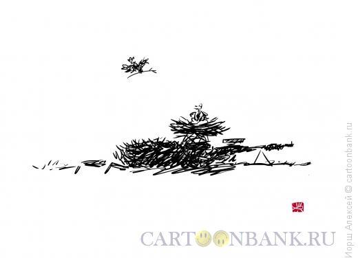 Карикатура: Снайпер, Иорш Алексей