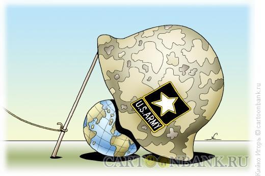 Карикатура: Угроза, Кийко Игорь