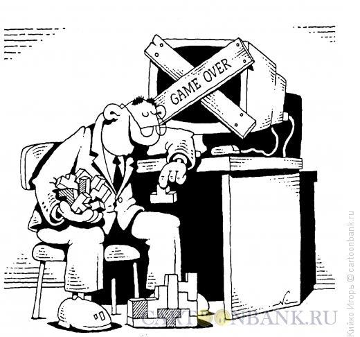 Карикатура: Тетрис, Кийко Игорь