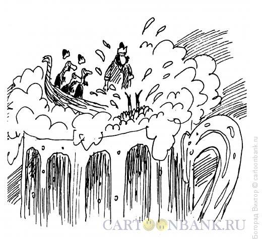 Карикатура: За борт, Богорад Виктор