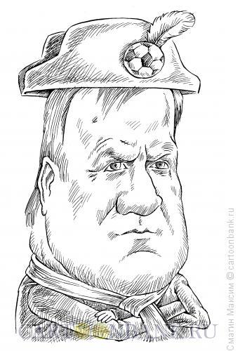 Карикатура: Адвокат Дик, Смагин Максим