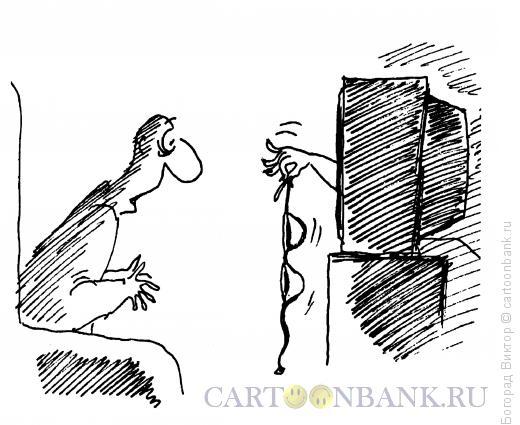 Карикатура: Лифчик, Богорад Виктор