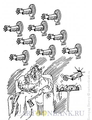 Карикатура: Защита имущества, Богорад Виктор