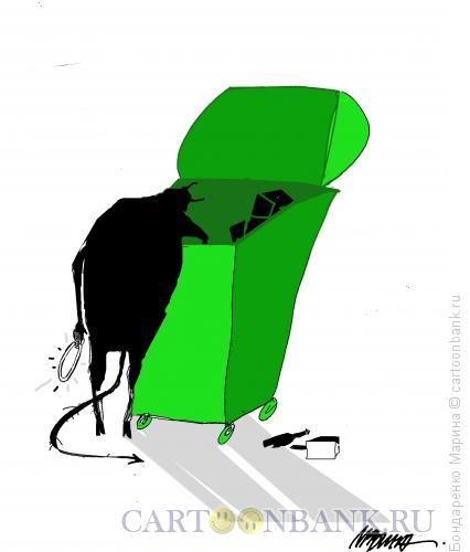 Карикатура: Бес и Нимб, Бондаренко Марина