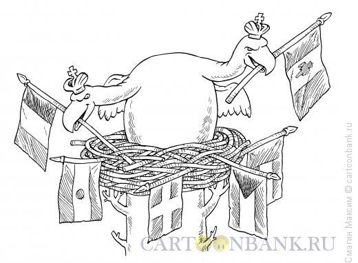 Карикатура: Гнездо, Смагин Максим