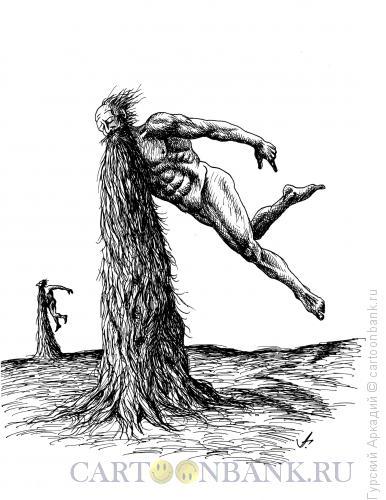 Карикатура: борода, Гурский Аркадий
