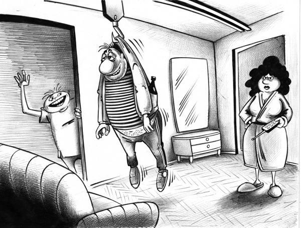 Карикатура: инновации, Сергей Корсун