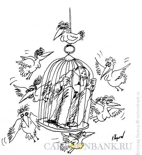 Карикатура: Массированная атака, Богорад Виктор