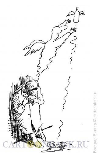 Карикатура: Две души, Богорад Виктор
