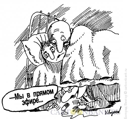 Карикатура: Прямой эфир, Богорад Виктор