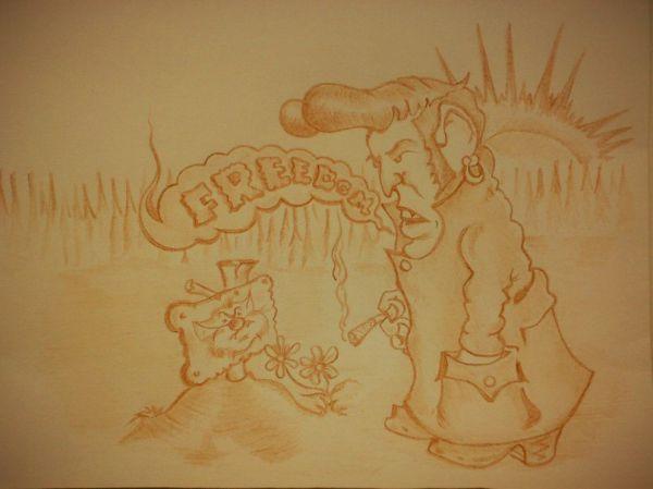 Карикатура: Каждому своя., Константин Мухоморов
