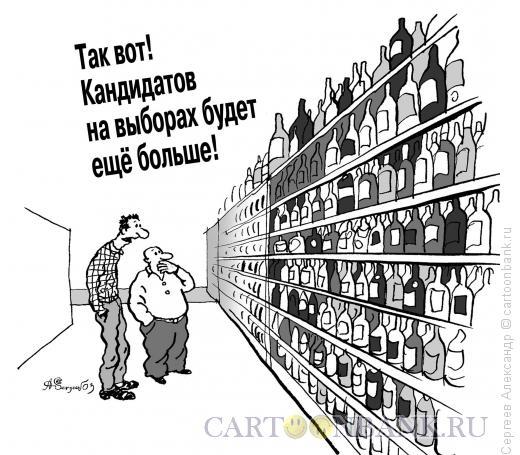 Карикатура: Новые выборы, Сергеев Александр