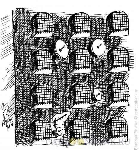 Карикатура: Везде можно жить, Богорад Виктор