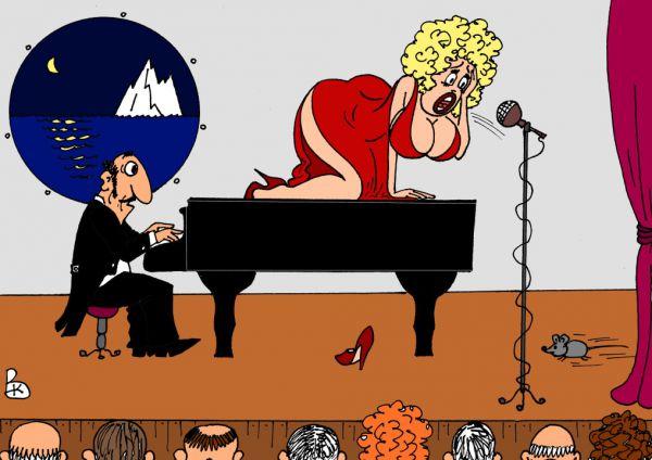 Карикатура титаник валерий каненков