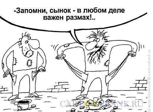 Карикатура: Размах, Шилов Вячеслав