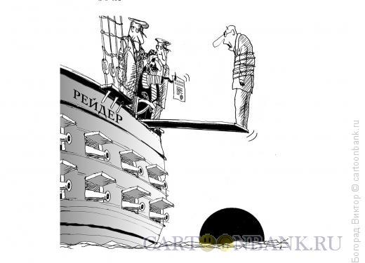 Карикатура: Рейдерство, Богорад Виктор