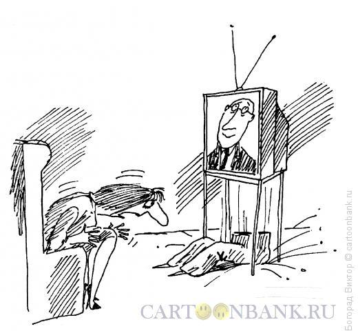 Карикатура: Пол-диктора, Богорад Виктор