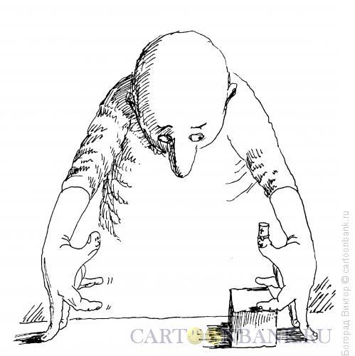 Карикатура: Самолечение, Богорад Виктор