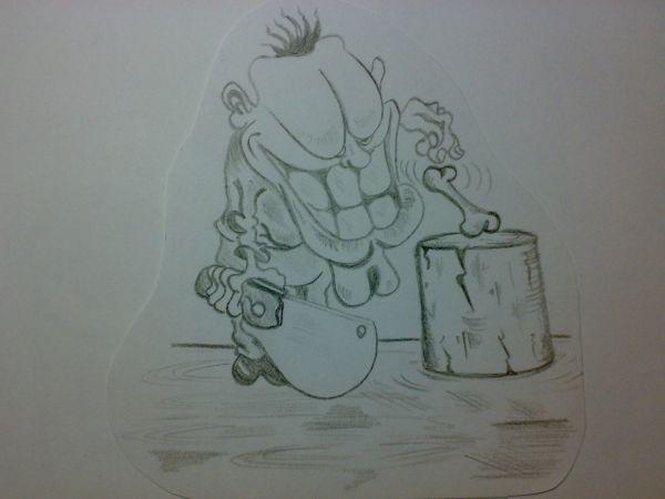 Карикатура: Эстет., Константин Мухоморов