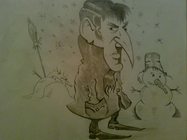 Карикатура: SPRING TIME., Константин Мухоморов