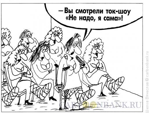 Карикатура: Ток-шоу, Шилов Вячеслав